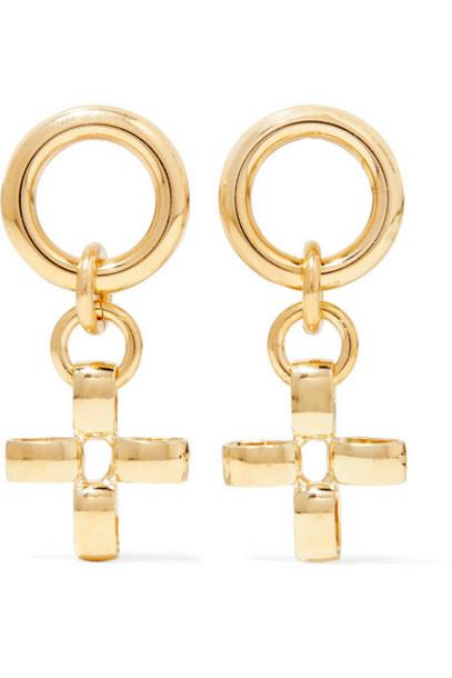 Laura Lombardi - Net Sustain Fiore Gold-tone Earrings