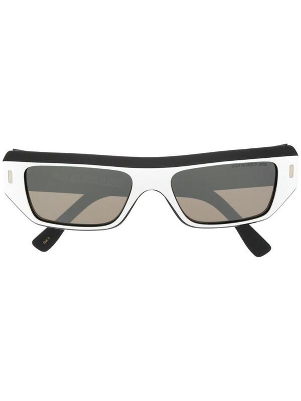 Cutler & Gross geometric tinted sunglasses in black