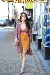 sensible stylista,blogger,skirt,shoes,cardigan,bag