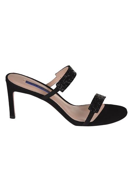 Stuart Weitzman Razzle Sandals in black