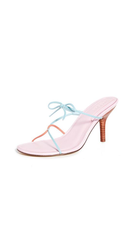 JAGGAR String Sandals in pink / multi