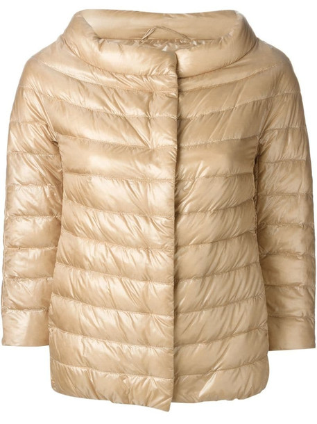 Herno padded jacket in neutrals