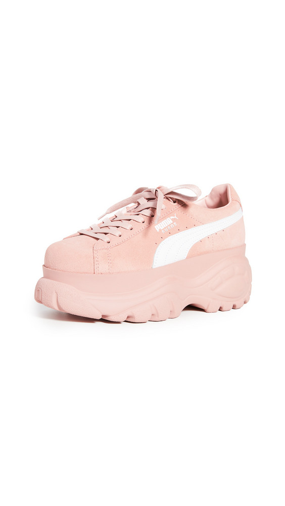 PUMA Suede Buffalo 2 Sneakers in rose / white