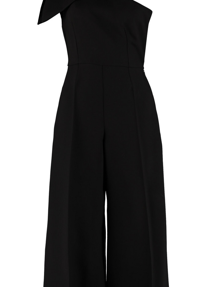 Elisabetta Franchi Celyn B. Elisabetta Franchi Celyn B. One-sleeve Jumpsuit With Bow in black