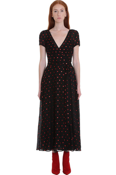 RED Valentino Dress In Black Viscose