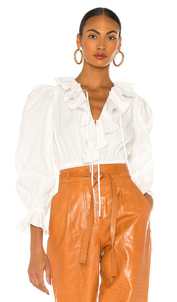 Ulla Johnson Kalila Blouse in White