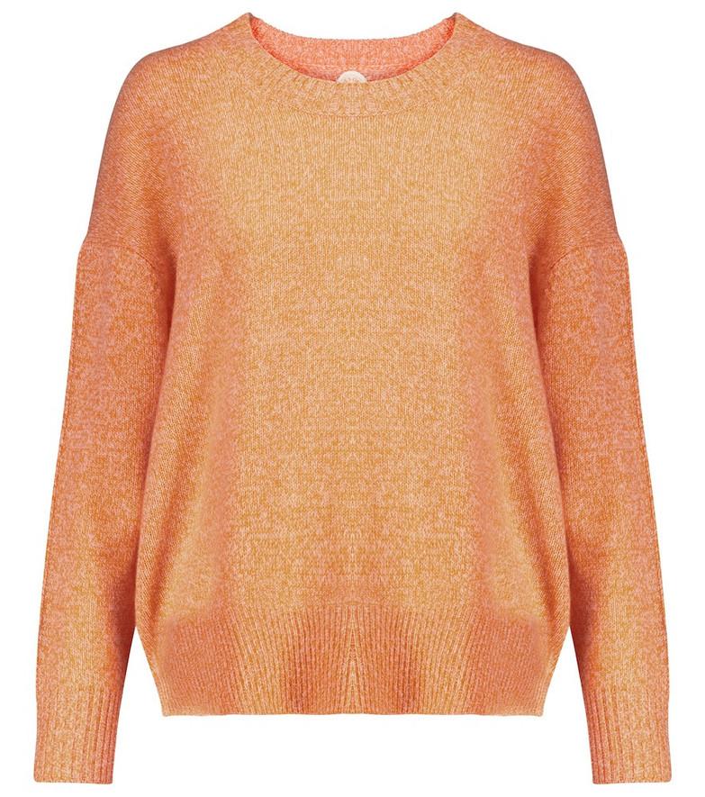 Jardin des Orangers Cashmere sweater in orange