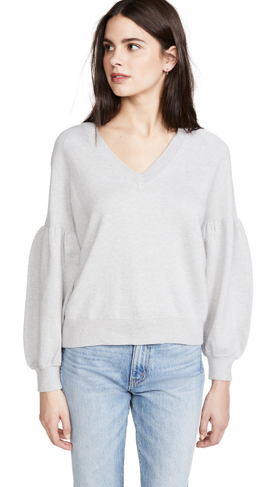 360 SWEATER Mabel Sweater in grey
