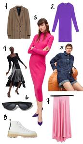 style scrapbook,blogger,jacket,dress,skirt,sunglasses,shoes,knitted dress,spring outfits