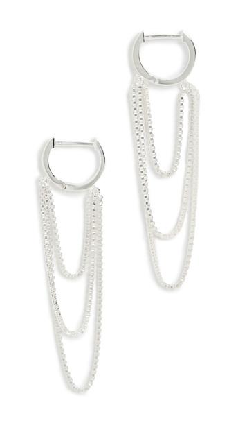 Jennifer Zeuner Jewelry Esti Earrings in silver
