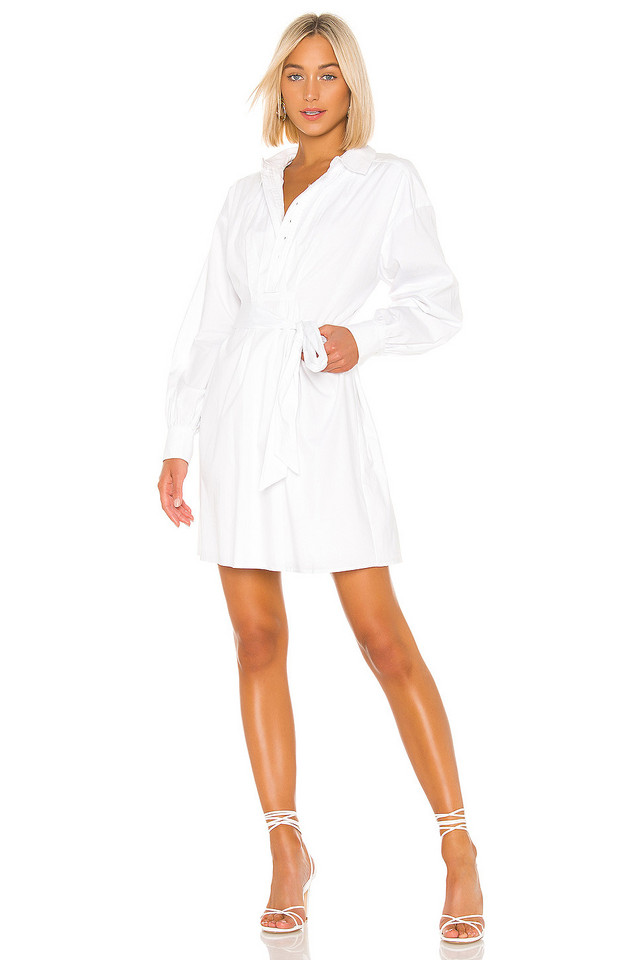 LPA Claudette Dress in white
