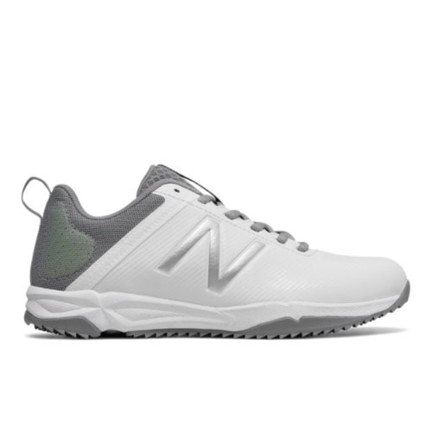 New Balance NB Draw Turf Women's Lacrosse Shoes - White/Grey (WDRAWTWT)
