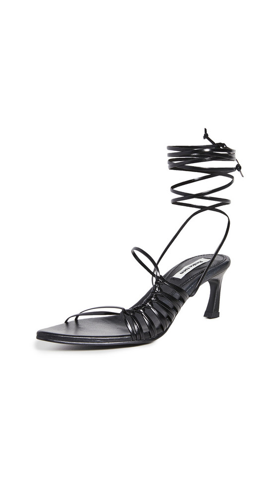 Reike Nen Knot Pointed Sandals in black