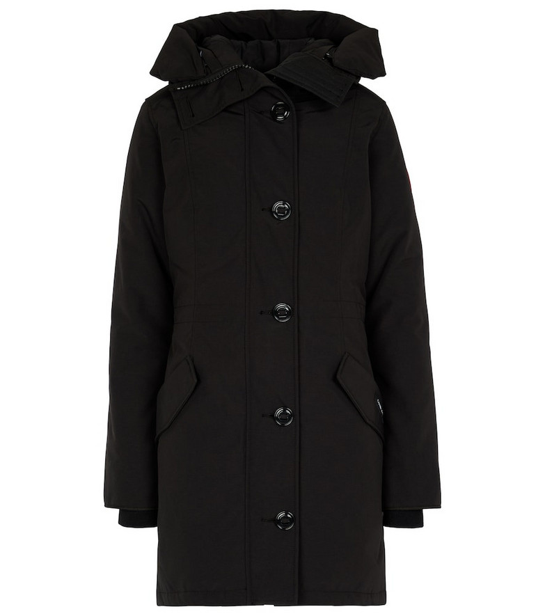 Canada Goose Rossclair down parka in black