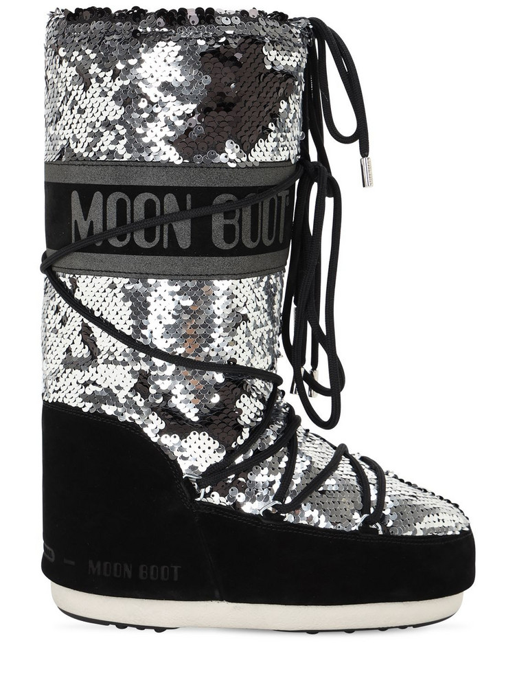 MOON BOOT Classic Disco Boots in black