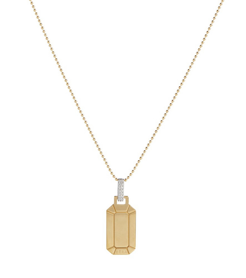 EÉRA Tokyo Small 18kt gold necklace with diamonds