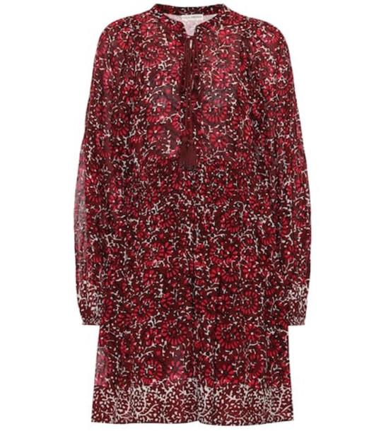 Ulla Johnson Asimar cotton dress in red