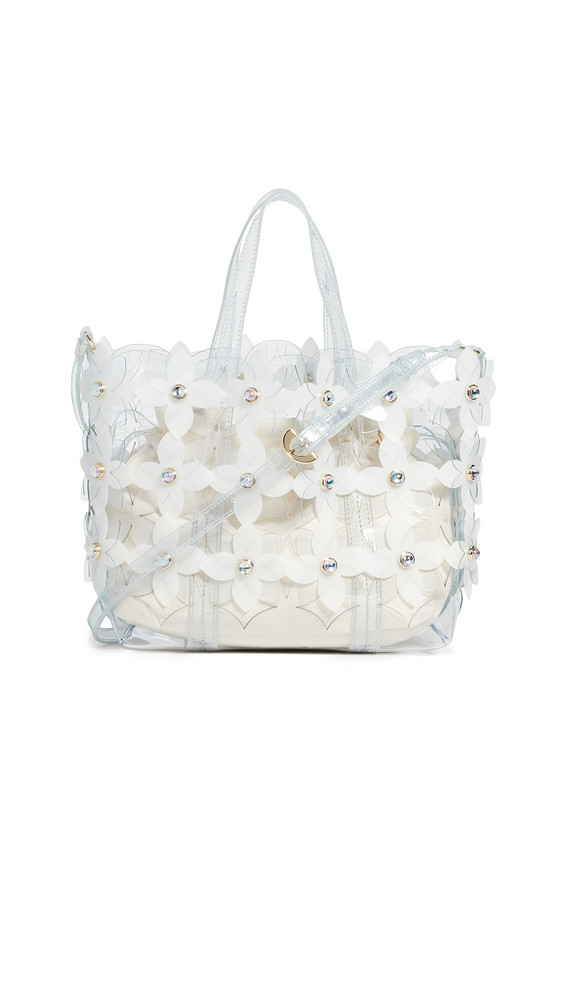 ZAC Zac Posen Floral Bouquet Shopper Bag in clear