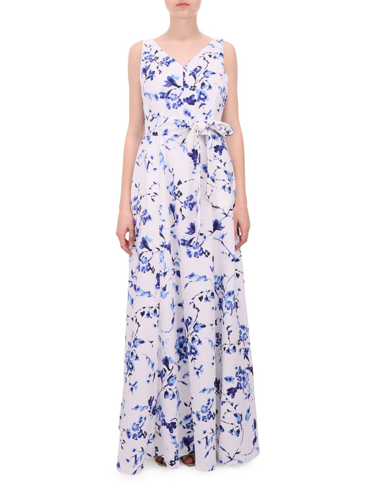Lauren Ralph Lauren Floral Tiviana Dress in bianco
