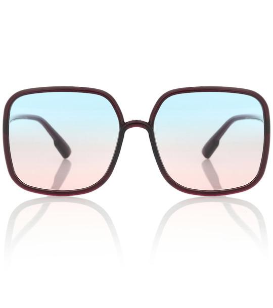 Dior Sunglasses DiorStellaire1 square sunglasses in purple