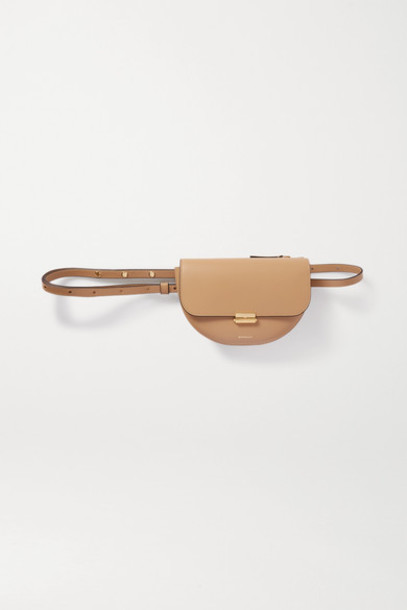 Wandler - Anna Leather Shoulder Bag - Beige