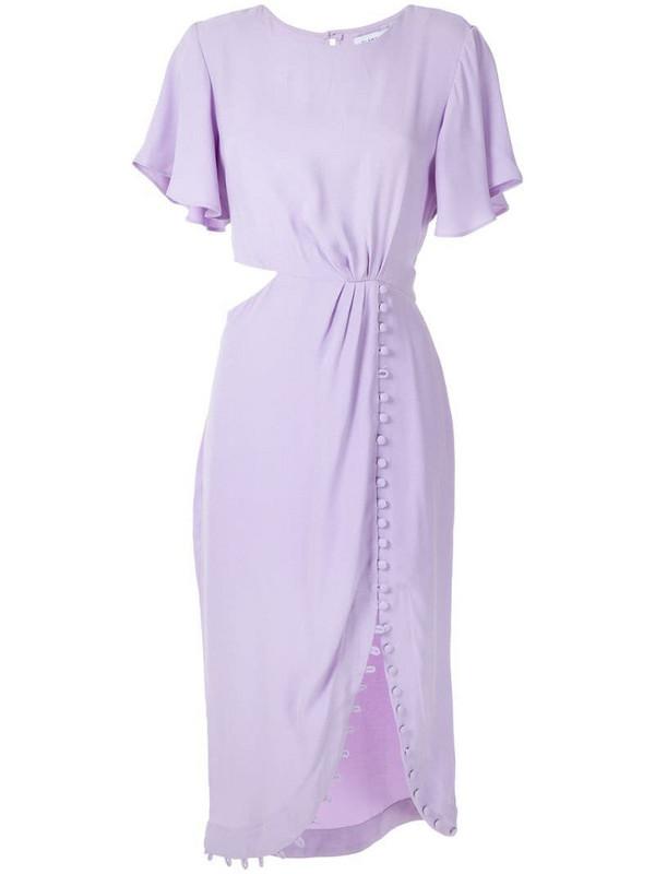 Olympiah Maggiolina short dress in purple