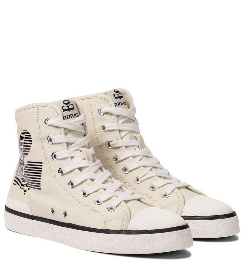 Isabel Marant Benkeen canvas sneakers in white