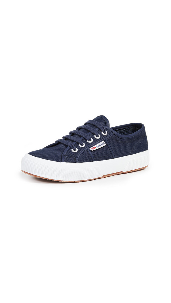 Superga Cotu Classic Lace Up Sneakers in navy