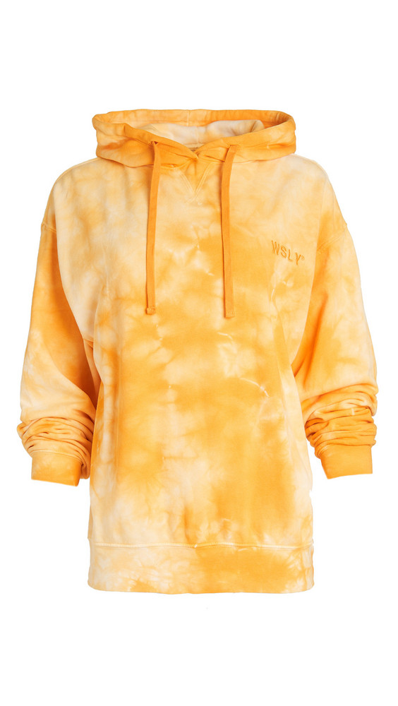 WSLY The Ecosoft Oversized Hoodie in saffron