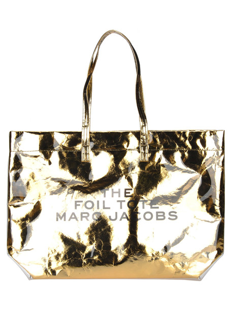 Marc Jacobs The Foil Tote in gold