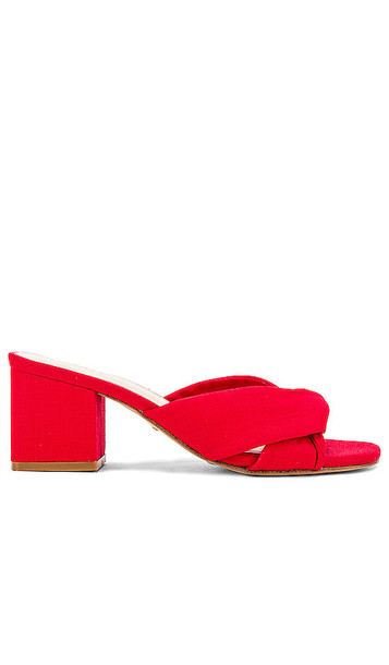 RAYE Tabby Heel in Red