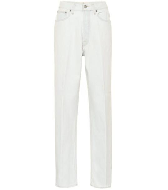 Golden Goose Deluxe Brand Shannen high-rise straight jeans in white