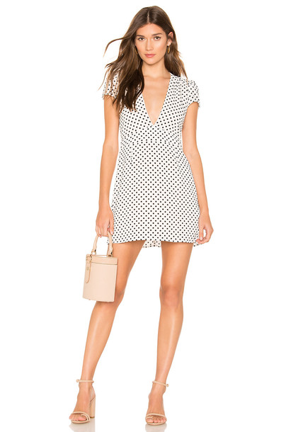 Endless Summer Bobby Mini Dress in white