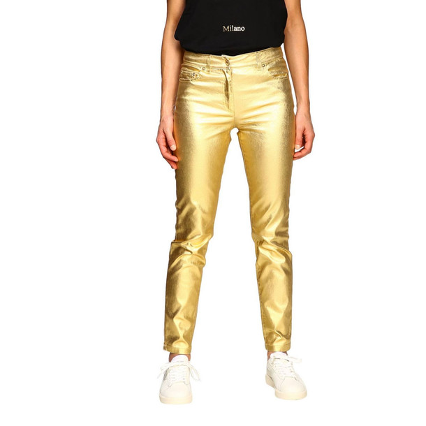 Moschino Couture Pants Pants Women Moschino Couture in gold