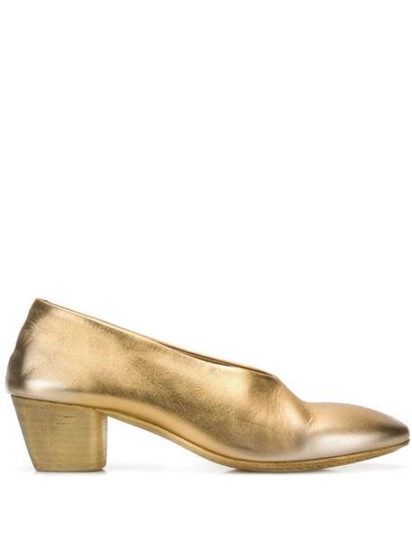 Marsèll Coltello pumps in gold