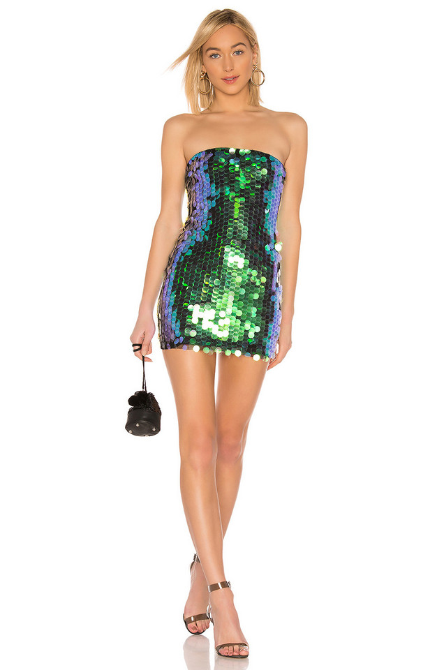 by the way. Marsha Strapless Mini Dress in black