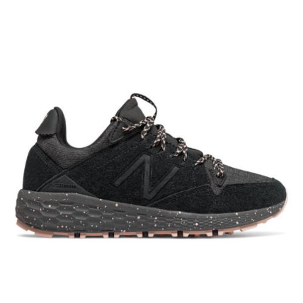 New Balance Fresh Foam Crag Trail Women's Trail Running Shoes - Black/Pink (WTCRGRB1)