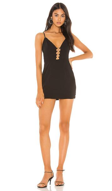 superdown Maren Mini Dress in Black