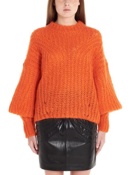 Isabel Marant inko Sweater in orange