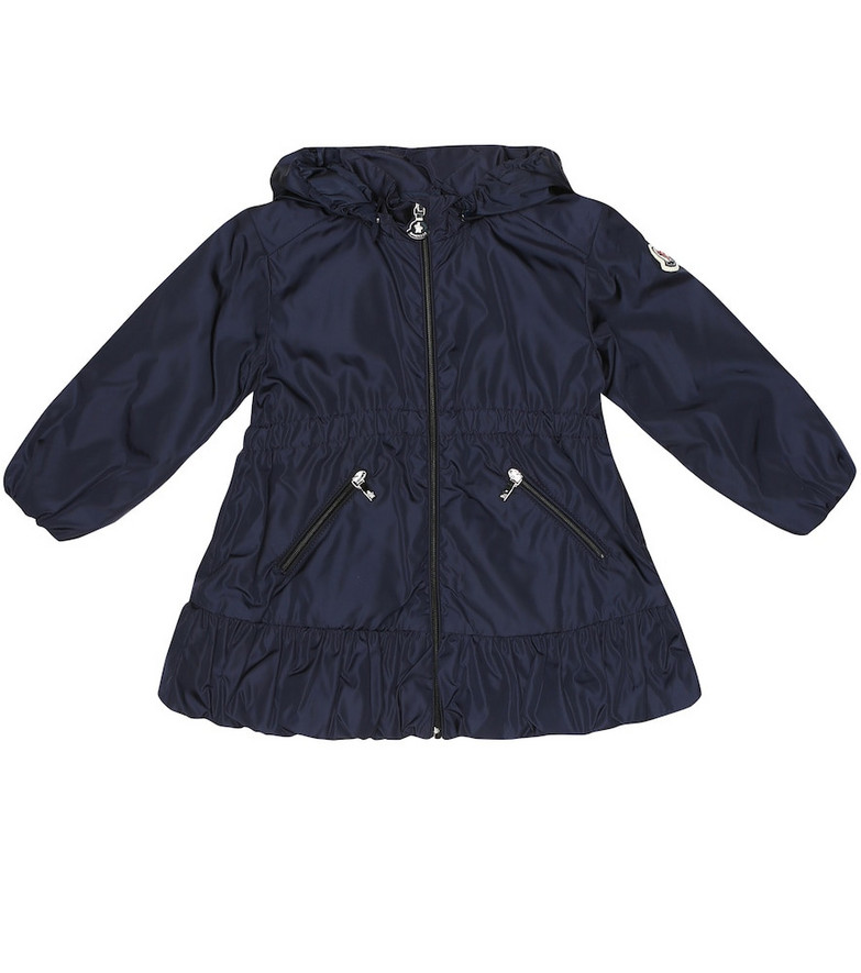 Moncler Enfant Baby Geranium hooded jacket in blue
