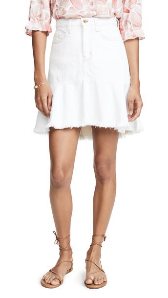 Nobody Denim Scultped Skirt