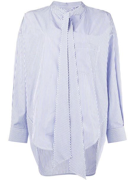 Balenciaga New Swing shirt in blue