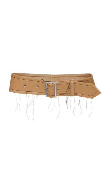 Marni Nappa Distressed Leather Belt in neutral