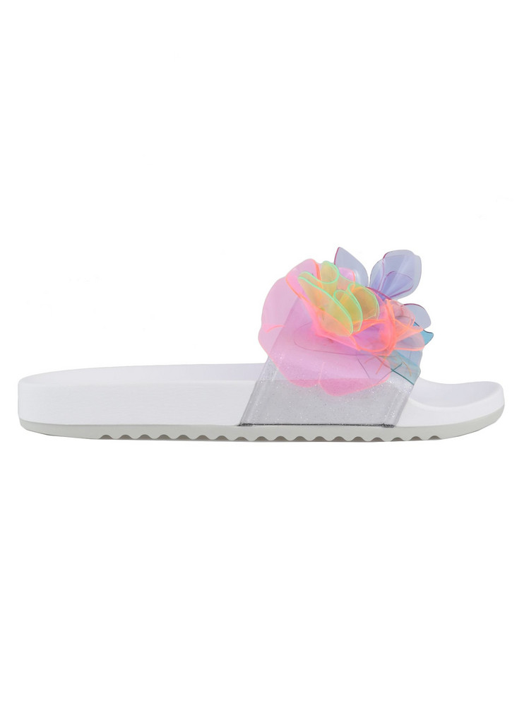 Sophia Webster Jumbo Lilico Slide Sandal in multi / clear