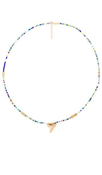 joolz by Martha Calvo Atlantic Necklace in Blue