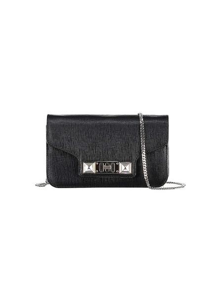 Proenza Schouler Ps11 Leather Clutch in black