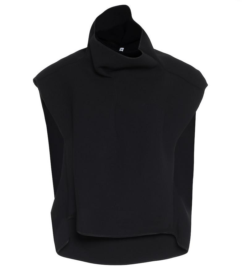 Maticevski Hedy Box top in black