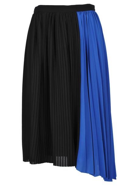 Kenzo Skirt Pleates in black / blue