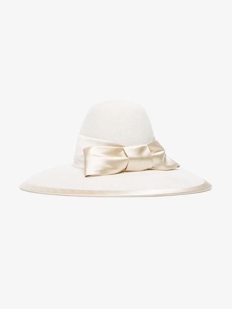 Gucci GCCI HAT W AURORA in white