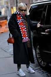 scarf,rita ora,celebrity,coat